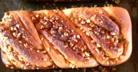 Cashew Caramel Babka 250g