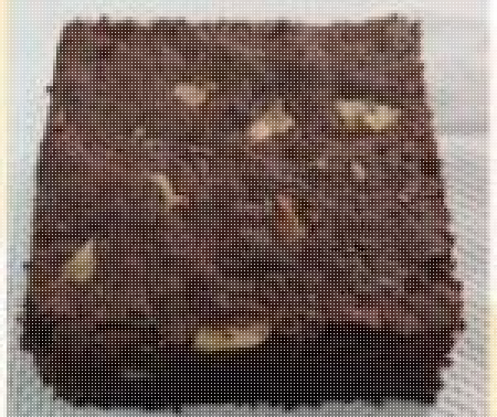 Dark Chocolate Walnut Brownie  (Pack of 2) contains egg 130g