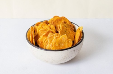 Whole Wheat & CARROT CRACKERS 100g