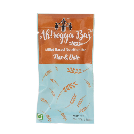 Flax & Date bar - pack of 12