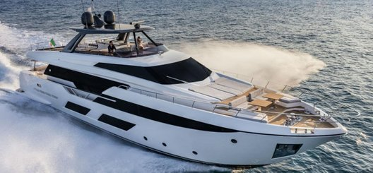 Used Ferretti Yachts 920 for sale BOATIM