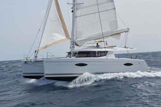 Used Fountaine Pajot Helia 44 for sale BOATIM