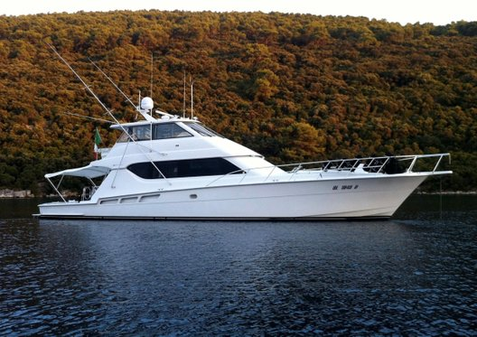 Used Hatteras 70 Convertible for sale BOATIM