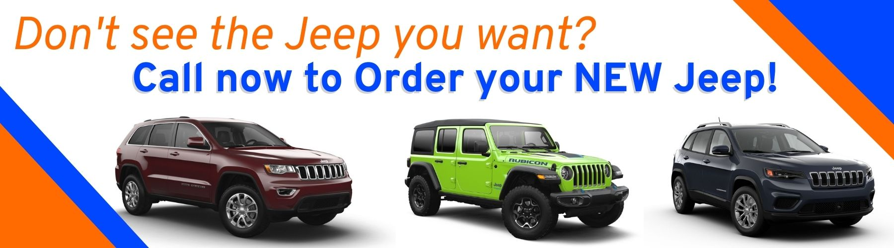 Order your Jeep