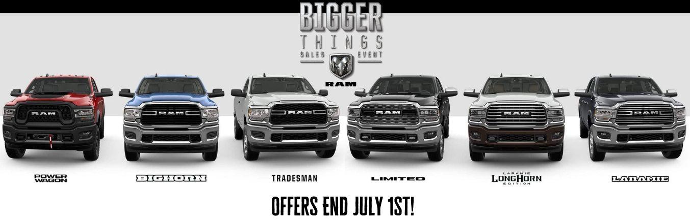 Bigger Things Ram Deals