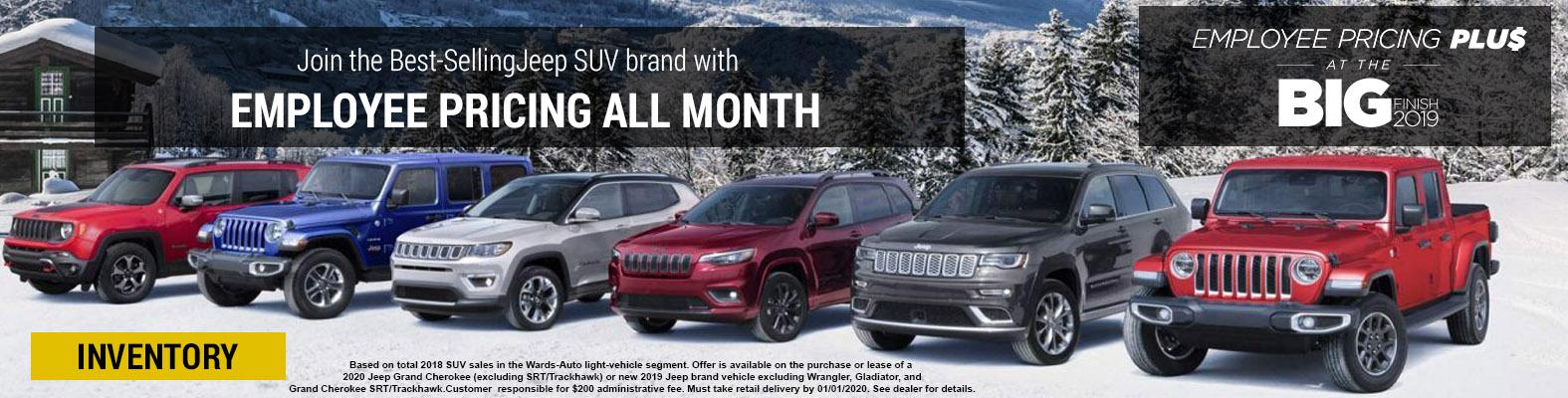 Jeep Monthly Offer