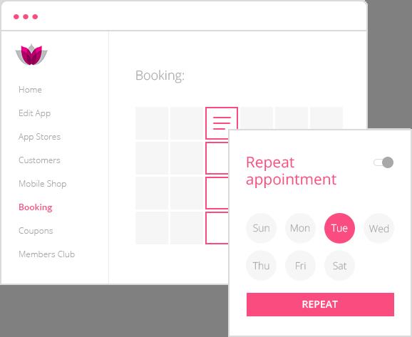 booking & scheduling app
