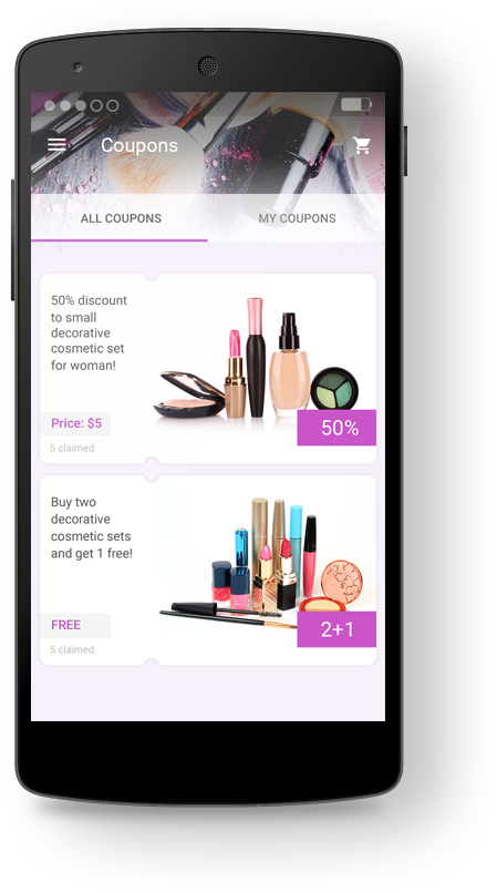 Bobile coupon app maker