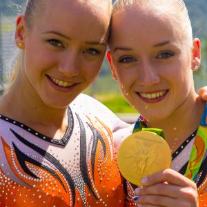 Lieke en Sanne Wevers (Turnen)