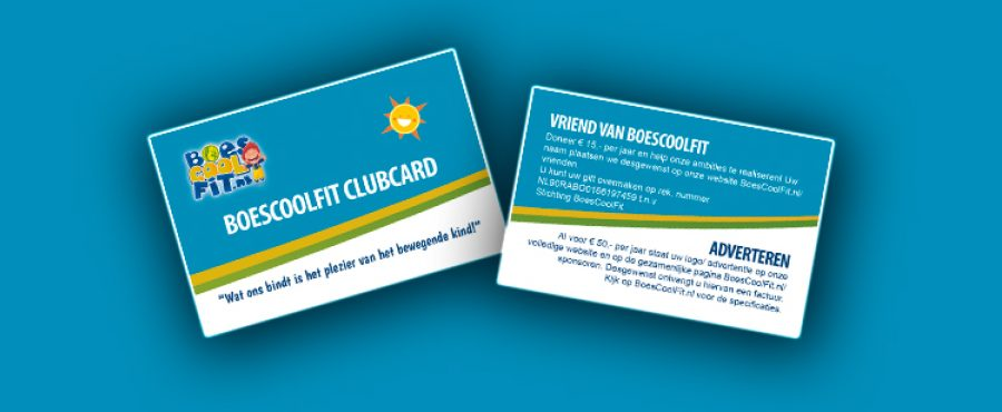 BoesCoolFit Clubcard