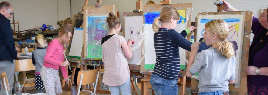Tekenen, schilderen, boetseren - speciaal onderwijs
