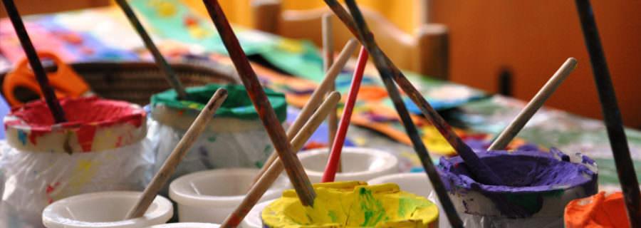 Tekenen, schilderen en boetseren