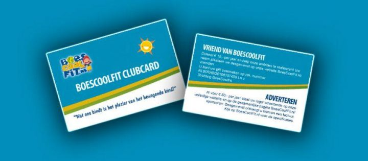 Clubcard BoesCoolTuur-BoesCoolFit