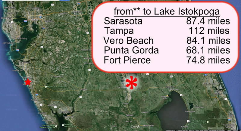 Lake Istokpoga to Sarasota