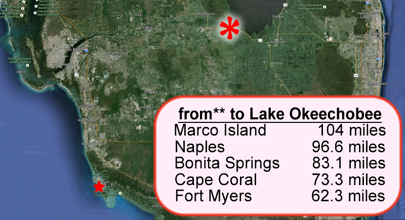 Lake Okeechobee to Marco Island