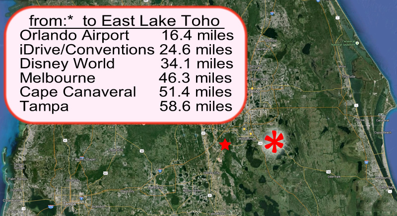 East Lake Toho to Kissimmee