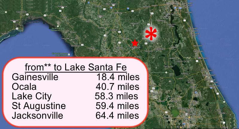 Lake Santa Fe - Gainesville