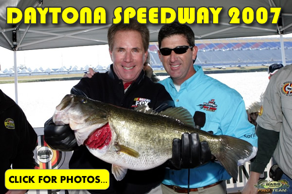 Daytona Florida Bass Fishing NASCAR style!