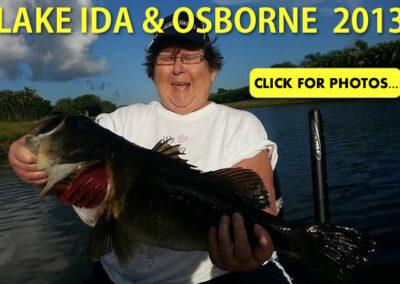 2013 Lake Ida Peacock Bass Pictures