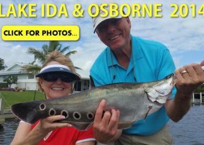 2014 Lake Ida Peacock Bass Pictures
