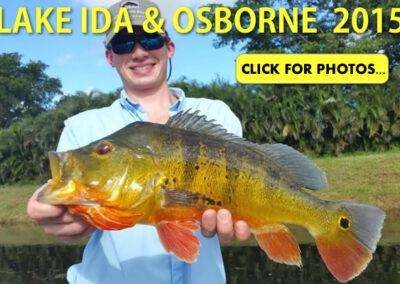 2015 Lake Ida Peacock Bass Pictures