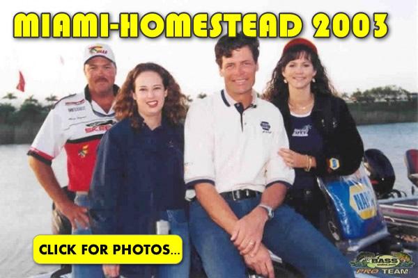 2003 NASCAR Miami-Homestead Charity Fishing