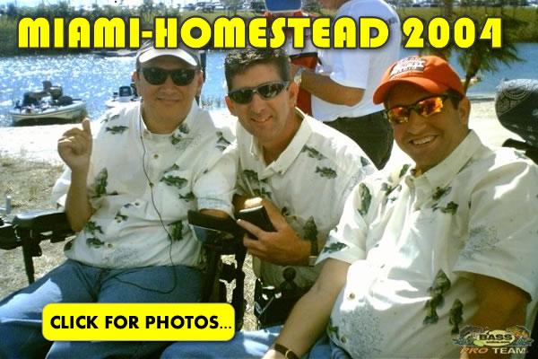 2004 NASCAR Miami-Homestead Charity Fishing