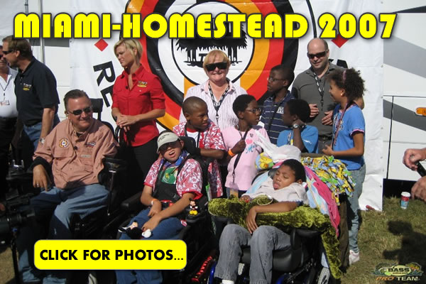 2007 NASCAR Miami-Homestead Charity Fishing