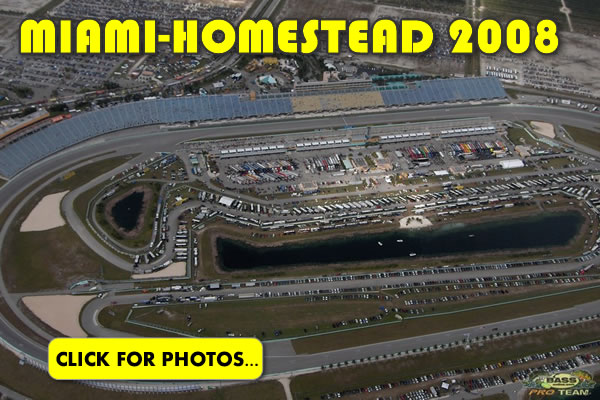 2008 NASCAR Miami-Homestead Charity Fishing