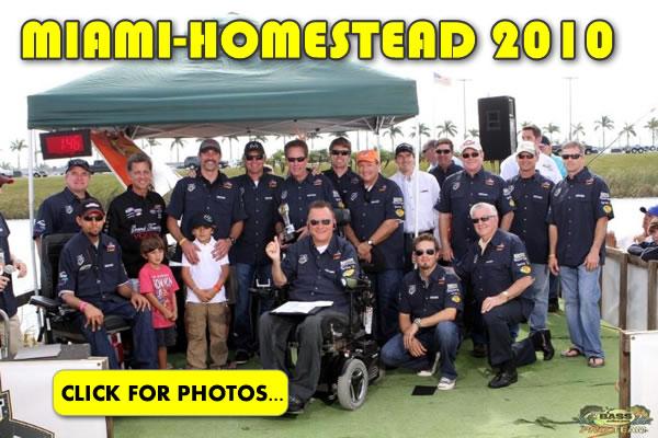 2010 NASCAR Miami-Homestead Charity Fishing