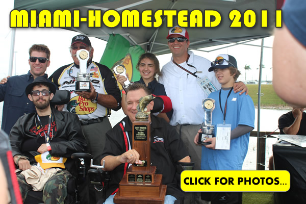 2011 NASCAR Miami-Homestead Charity Fishing