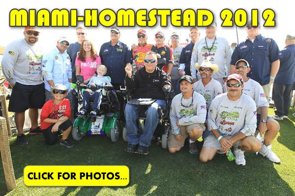 2012 NASCAR Miami-Homestead Charity Fishing