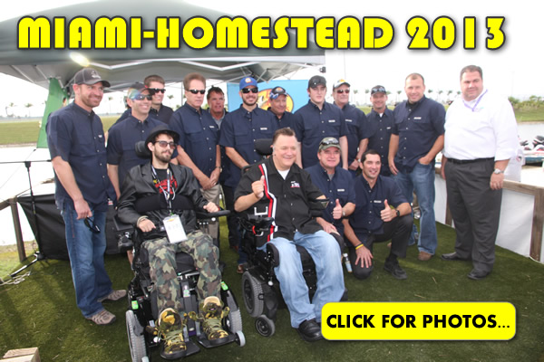 2013 NASCAR Miami-Homestead Charity Fishing