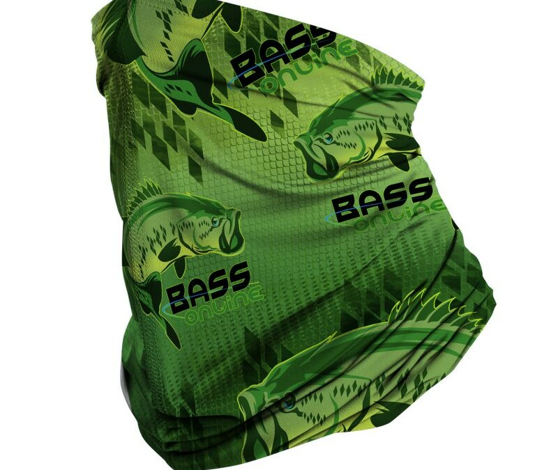 GREEN BASS SCARF