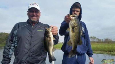 Bass Are Hitting Crank Baits On Lake Toho