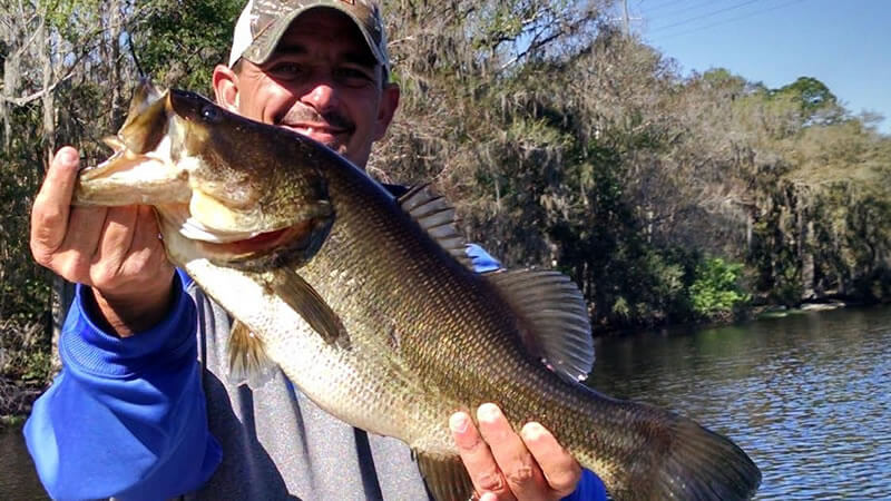 February Largmouth Bass Fishing Adventure- St Johns River