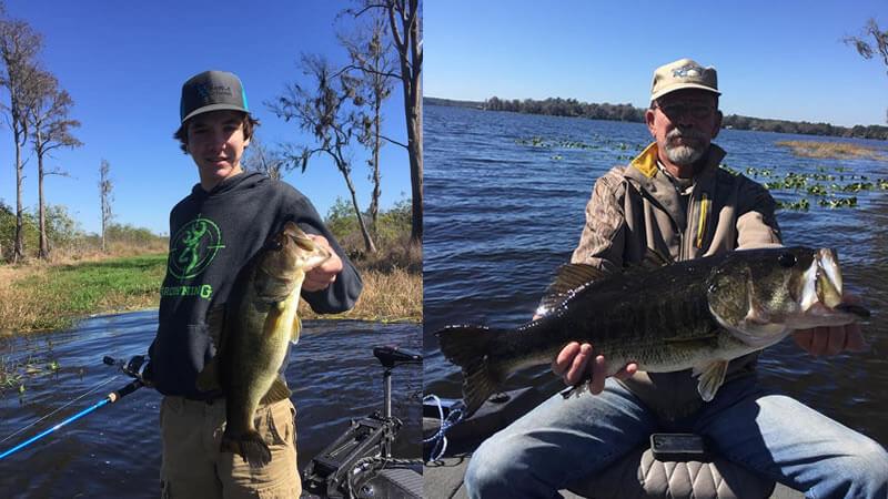 North Florida Fishing Outdoor Adventure- Lake Santa Fe