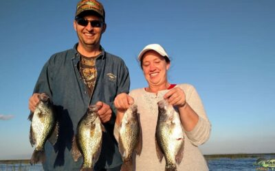 Lake Okeechobee Florida Fishing Crappie Charter