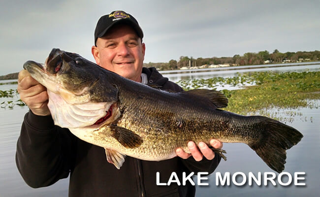 LAKE MONROE BASS FISHING
