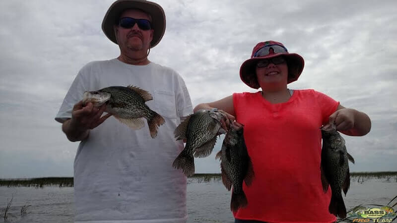 Crappie Fishing Harney Pond