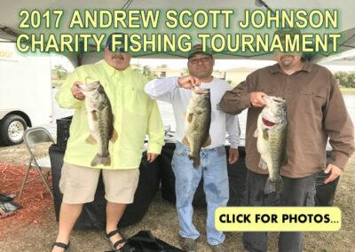 2017 Andrew Scott Johnson Charity Fishing Tournament