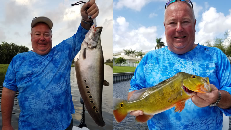 Catching a Surprise Florida Fishing Species on Bucket List Trip