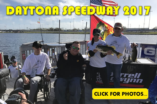 2017 NASCAR Daytona 500 Fishing Pictures