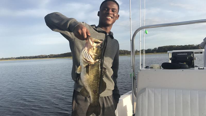 Lake Garcia Bass Fishing Florida
