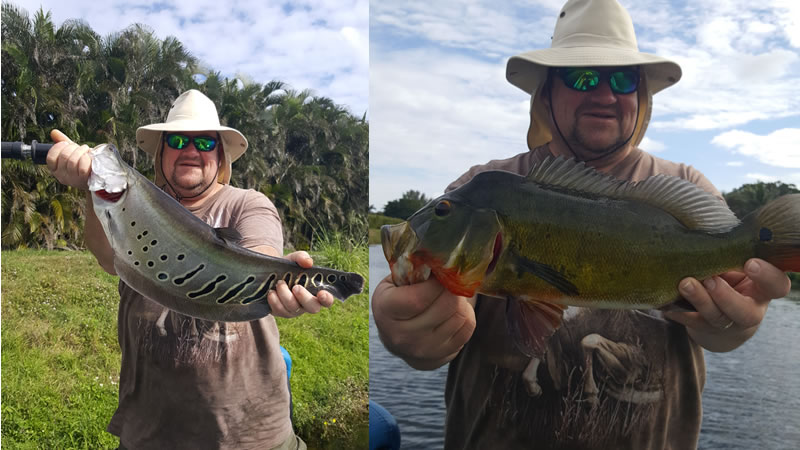 Jack Pot Fishing Trips on the Lake Ida Chain of Lakes in South Florida