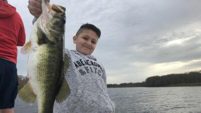 Catching Schooling Florida Bass