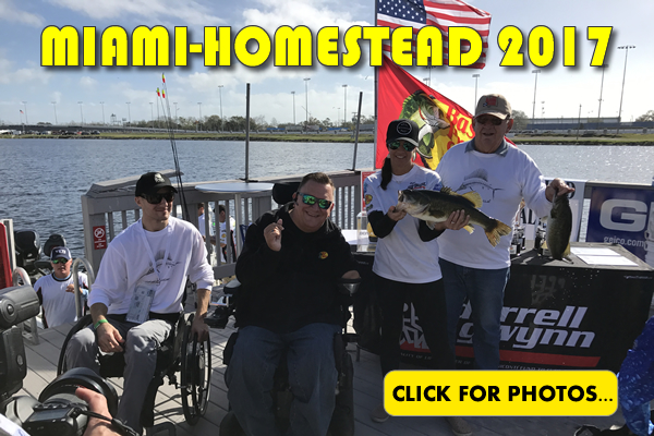 2017 NASCAR Miami-Homestead Charity Fishing