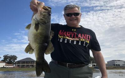 Johns Lake Fishing Trip Searching for Florida Largemouth Bass