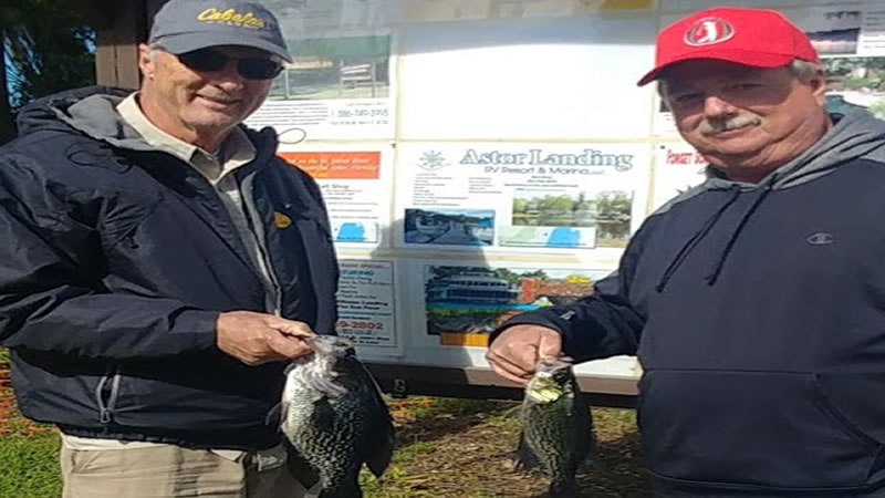 North Florida Panfish Fishing on the St Johns River System