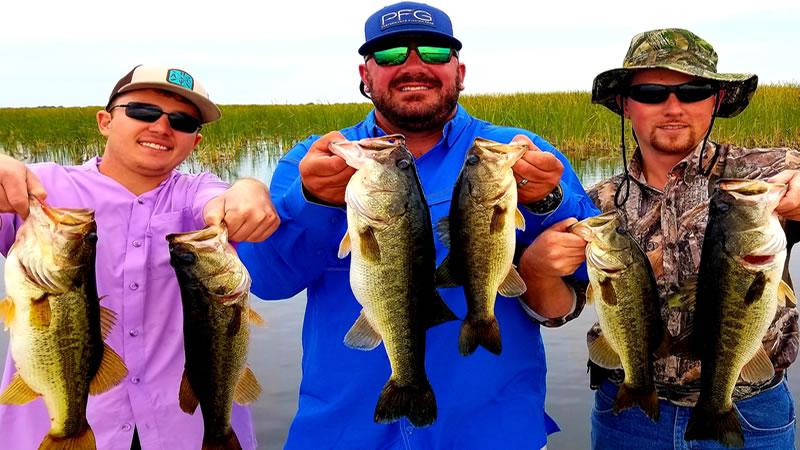 Summer Lake Okeechobee Bass Fishing